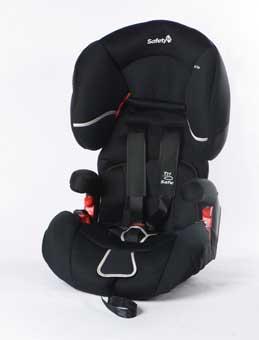 ADAC fordert verbesserten Seitenaufprall-Schutz für Kindersitze
