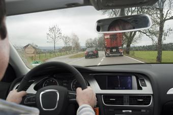 Der Verkehr immer gut im Auge behalten